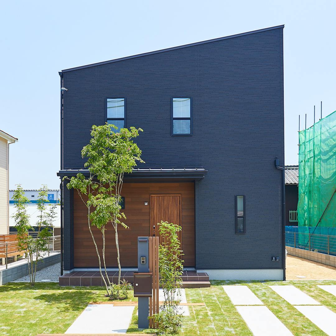 コンセプトは「ナチュラルガーデン」桜井西モデルハウスのエクステリアをご紹介|桜井・橿原の分譲・注文住宅の日生ハウジング