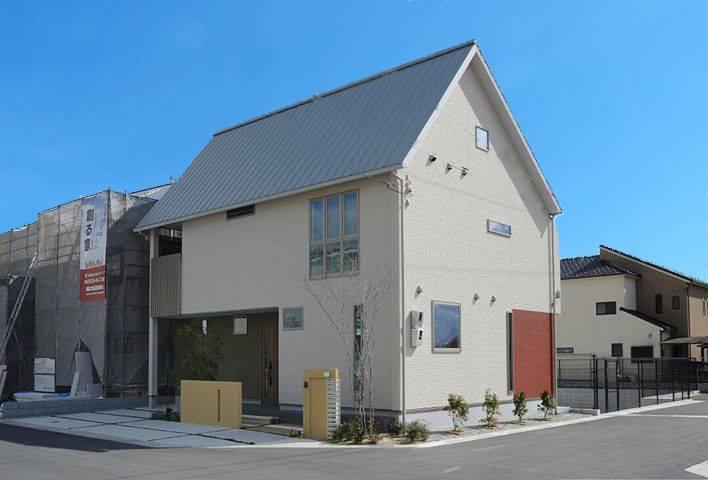 太陽いっぱいのさんかくの家|桜井・橿原の分譲・注文住宅の日生ハウジング