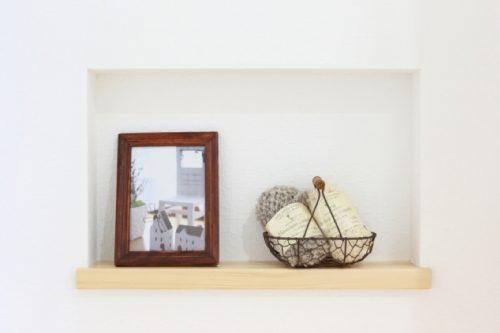 ニッチで遊ぶ!「飾る」を楽しむ住まいのデザイン|桜井・橿原の分譲・注文住宅の日生ハウジング